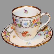 Vintage Schumann Bavaria Empress Cup and Saucer