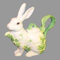 Vintage Fitz and Floyd Classic Rabbit Tea Pot