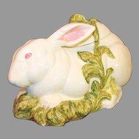 Vintage Large Ceramic Rabbit with Lid - Italian