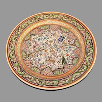 large Vintage Ceramic Platter  -  Ceramica Coimbra
