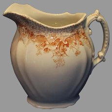 Comer Waterloo Pottery Pitcher - 1890s