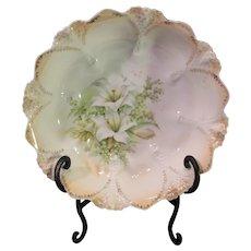 R S Prussia Fruit Bowl Centerpiece - late 1800s