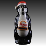 Wade Hamms Beer Figurine - Black 1995