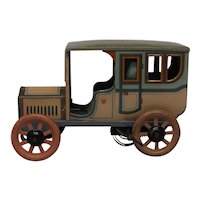 Vintage Bing Tin Town Sedan Wind up Car Circa 1912