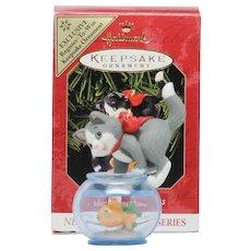 Rare Colorway Hallmark Ornament Mischievous Kittens QX6427