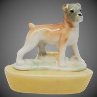 Wade First Whimsies Zoo Lights Candle Holder - Boxer Dog