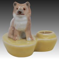 Wade First Whimsies Zoo Lights Candle Holder - Husky Dog