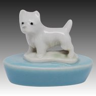 Wade First Whimsies Zoo Lights Candle Holder - Terrier Dog