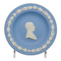 Wedgwood Blue and White Jasperware Prince Philip Pin Tray Dish