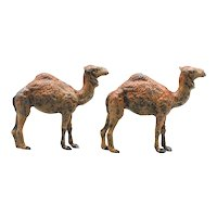 Two Old Lead Camels Marked Germany