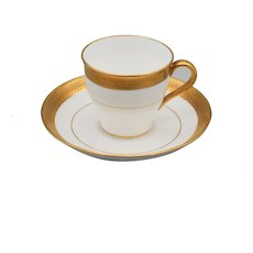 One Elegant Mintons Demitasse Cup and Saucer  H1935