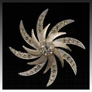 Sarah Coventry Evening Comet Brooch