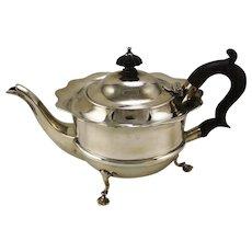 Edwardian Sterling Silver Teapot