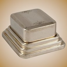 Sterling Silver Double Ring Box