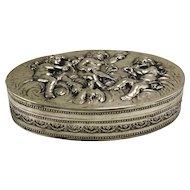 Coppini Silver Cherub Box