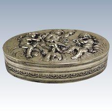 Coppini Silver Cherub Box