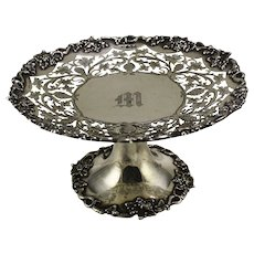 English 1911 Sterling Silver Comport