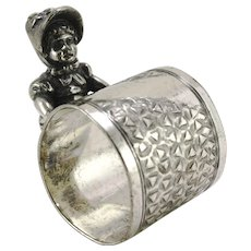 Kate Greenaway Figural Napkin Ring