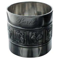 Gorham Mother Goose Sterling Napkin Ring