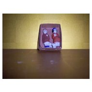 All Bisque Man & Woman Doll