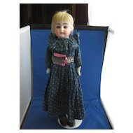 """Alma"" German Bisque Doll"