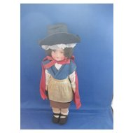 Vintage All Cloth Doll from Wales