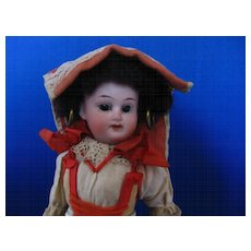 "Antique German Doll ""Schoenau Hoffmeister"""