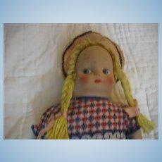 Vintage Cloth Doll