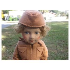 Chad Valley  Wac Cloth Doll