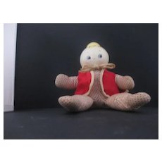Vintage Rattle Doll