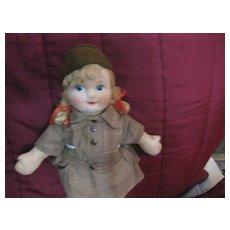 "Georgene Novelties  ""Brownie"" Doll"