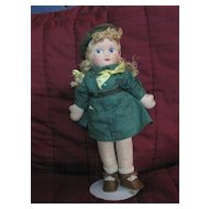 "Georgene Novelties  ""Girl Scout"" Doll"