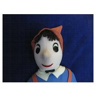 Pinocchio Cloth Doll by Cuddle Toys made in USA