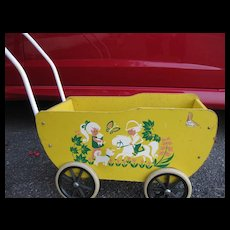 Brio Doll Carriage from 1970s