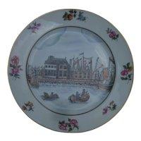 Metropolitan Museum China Trade Porcelain Plate