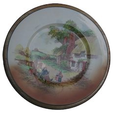 """Royal Doulton Dinner Plate """"Rustic England"""""""