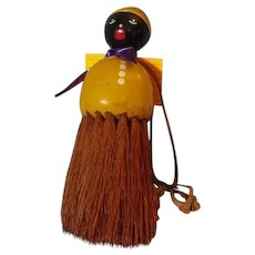 Vintage Black Doll  Brush