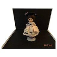"Madame Alexander Vinyl Doll""Wendy in her Party Dress"""