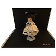 "Madame Alexander Vinyl Doll""Wendy in her Party Dress"""