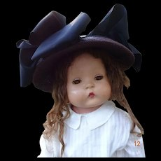 "Rare Effanbee ""Patsy Mae"" 30"" Composition Doll"