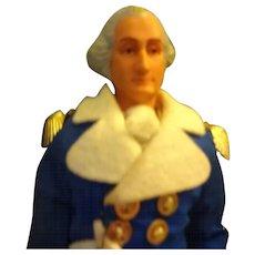 Vinyl George Washington  Doll