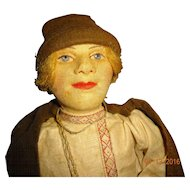 Cloth Russian USSR  Soviet  Union Village  Boy  Doll