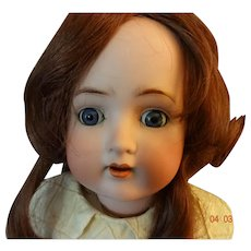 "German  Bisque  Doll  ""Sweet  Nell"""