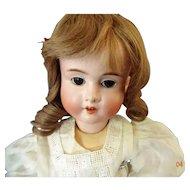 "Antique German Bisque Doll ""Viola""  H & Co  5"