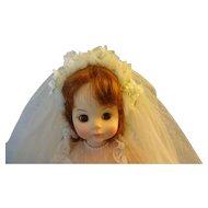"""Madame  Alexander  """"Bride"""""""