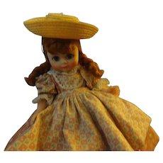 "Madame Alexander 8"" vinyl Doll  ""Polly Flinders"""
