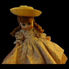 "Madame Alexander 8"" vinyl Doll  ""Polly Flinders"""