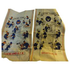 Military Crying  Towel  from Lackland AFB and Narsarssuak AB
