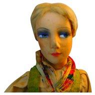 Vintage Cloth Boudoir Doll