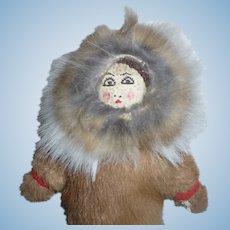 Eskimo  Cloth  Doll
